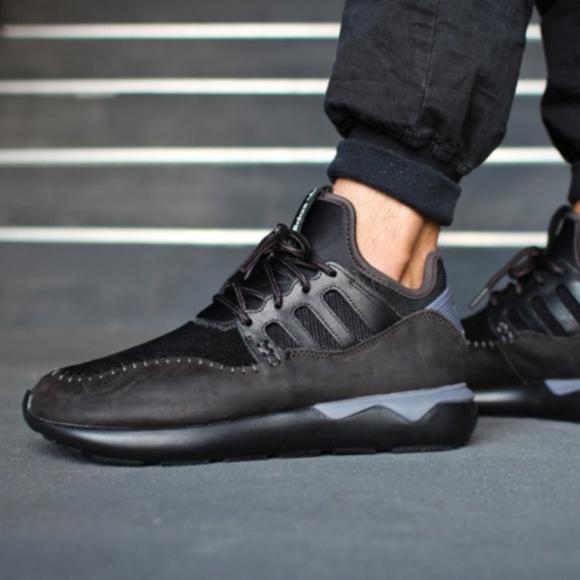 Menns Adidas Rørformet Moc Runner - Svart i1hNR2COHn